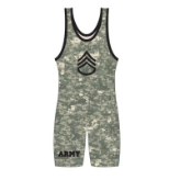Matman Camo Singlet Green Army