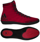 Adizero Varner Shoes - Red/Black (size 15 only)