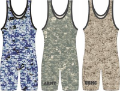 Matman Camo Singlet Green Army (SKU: 21MO-GC-02)