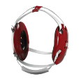 Clinch Icon Headgear Red (SKU: 4CIH1)