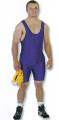 Mat-man solid color Singlet (SKU: 2195)