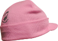 Tough Enough Hat W/visor Pink