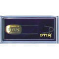 STIX PIN ENGRAVED with Presentation Case