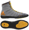 Adizero Varner Shoes - Grey/Black/Gold (SKU: 68AVG)
