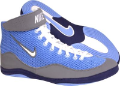 Nike Inflict LIGHT BLUE White